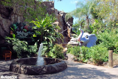 Rain Forest Café Playground
