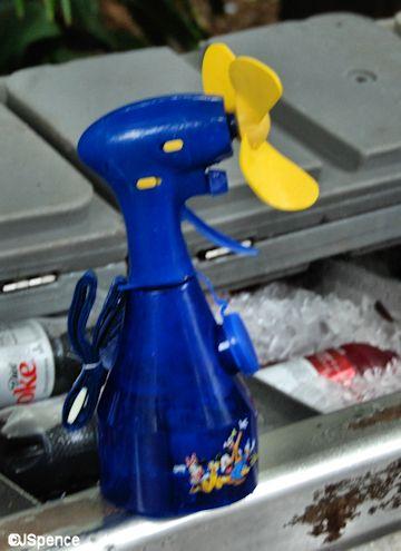Squirt Gun Fan