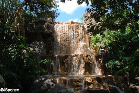 Rain Forest Café Waterfall