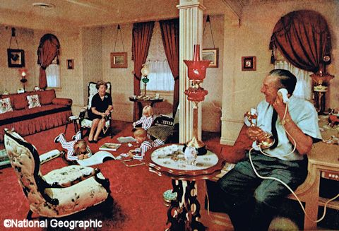 Walt's Disneyland Apartment