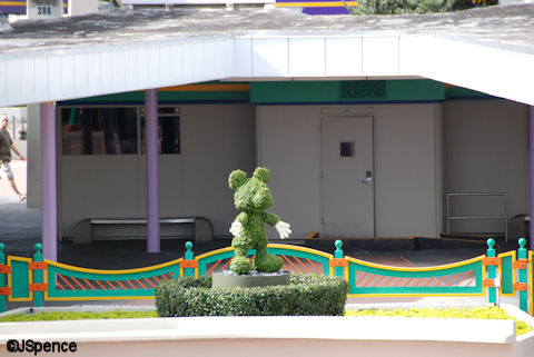 Topiary Mickey Mouse
