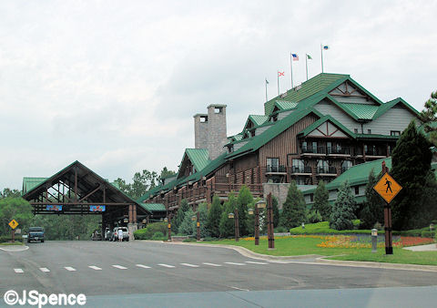 Wilderness Lodge Exterior Shot
