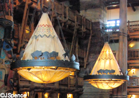 Tepee Light Fixtures