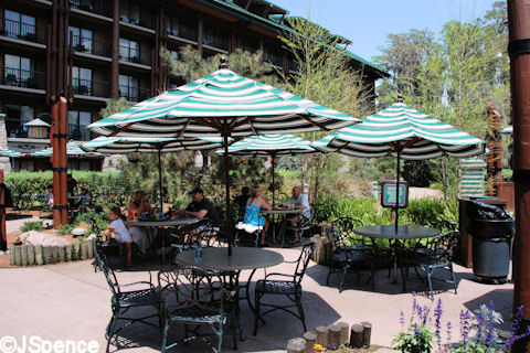 Outdoor Seating for Roaring Fork