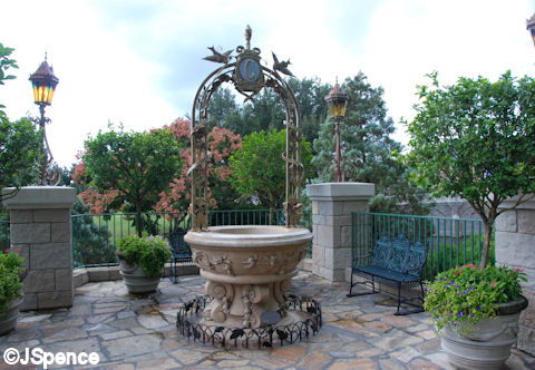 Cinderella Wishing Well