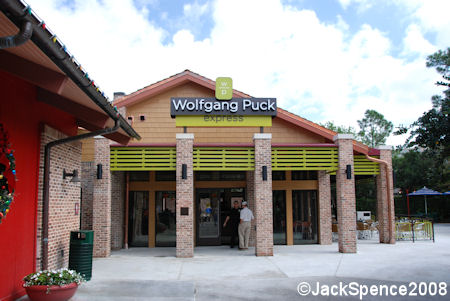 Wolfgang Puck Express Entrance
