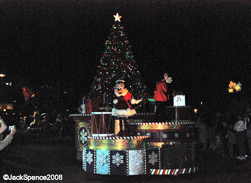 Mickey's Once Upon a Time Christmas Parade