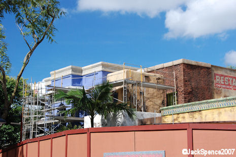 Yak & Yeti Restaurant Construction