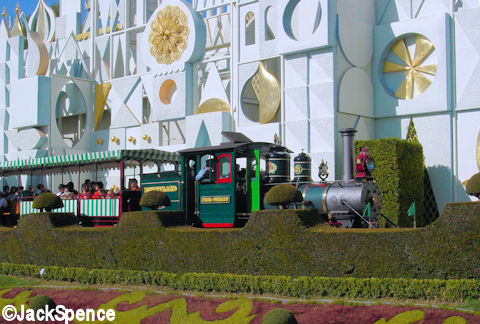 Disneyland Small World and Train