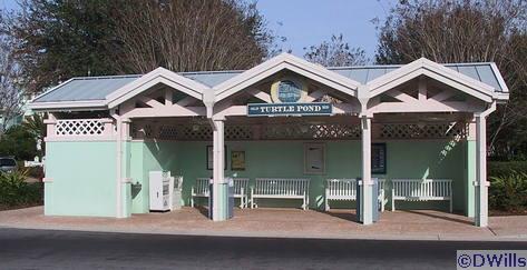 Turtle Pond Bus Depot at Old Key West