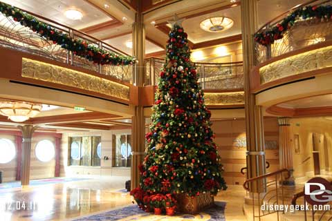 Holidays aboard the Disney Dream - Day 1