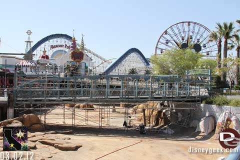 Disneyland Resort Photo Update - 3/02/12