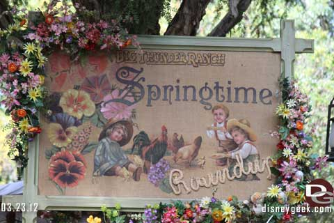 Disneyland Resort Photo Update - 3/23/12