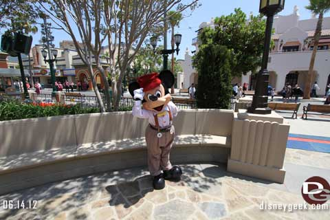 A Tour of Buena Vista Street