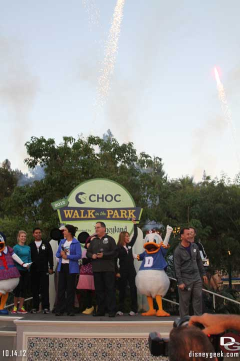 CHOC Walk in the Park @ Disneyland 10/14/12