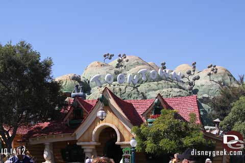 Disneyland Resort Photo Update - 10/14/12