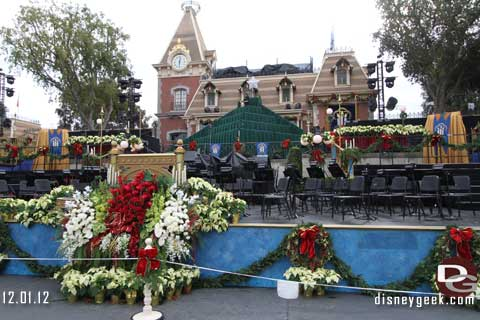Disneyland Candlelight Processional - 12/01/12
