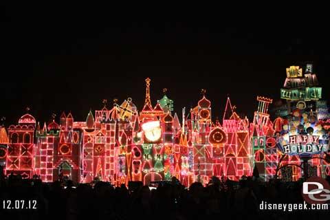 Disneyland Resort Photo Update - 12/07/12