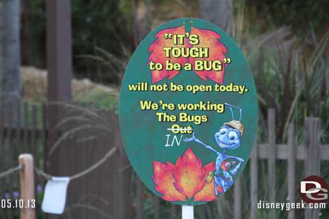 Disneyland Resort Photo Update - 5/10/13
