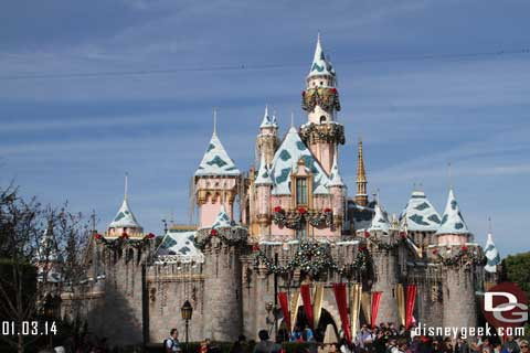 Disneyland Resort Photo Update - 1/04/13