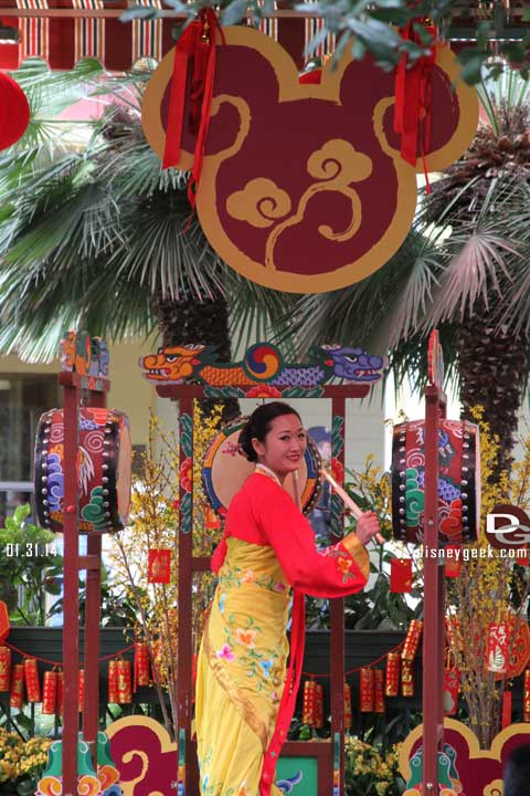 Disneyland Resort Photo Update - 1/31/14 - Lunar New Year