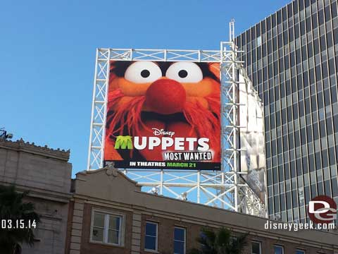 Muppets Most Wanted in Theaters