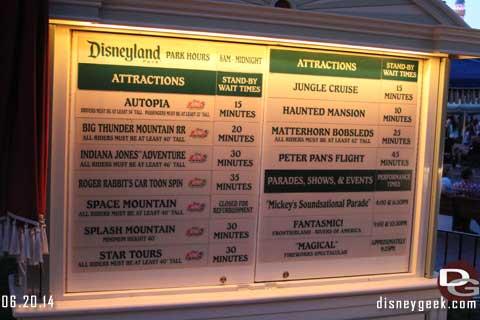 Disneyland Resort Photo Update 6-20-14