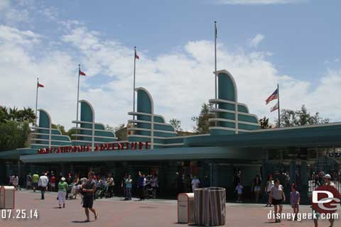 Disneyland Resort Photo Update - 7/25/14