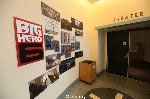 Roy E Disney - Walt Disney Animation Studios - Big Hero 6 Day Tour - Lobby