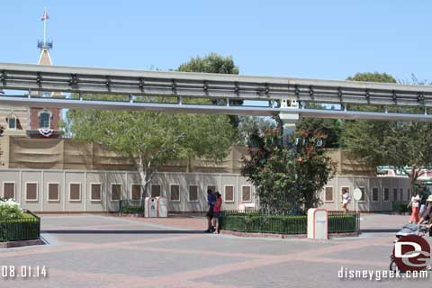 Disneyland Resort Photo Update - 8/01/14