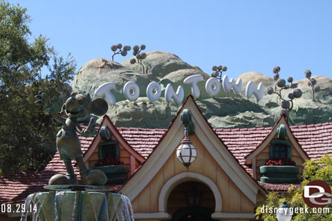 Disneyland Resort Photo Update - 8/29/14