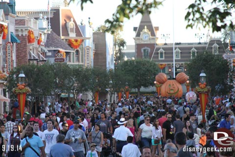 Disneyland Resort Photo Update - 9/19/14