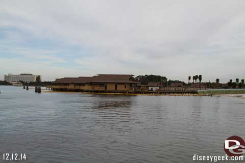 Polynesian Village at WDW Construction Update