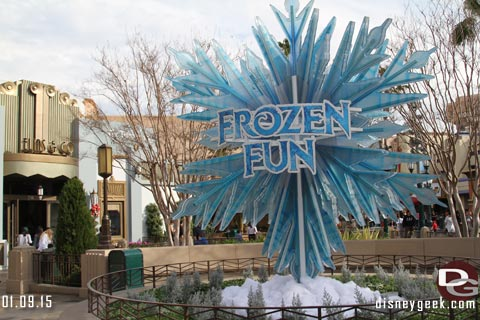 Frozen Fun at Disneyland