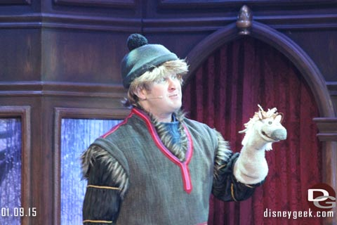 Disneyland's Royal Theatre - Frozen Fun