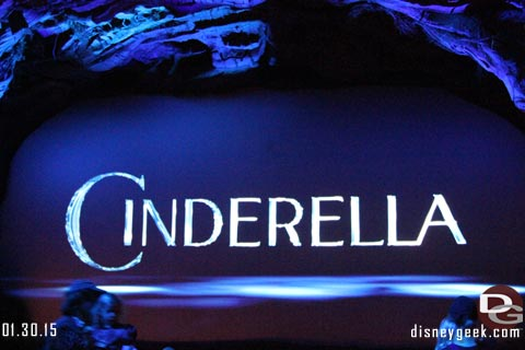 Cinderella Sneak Peek