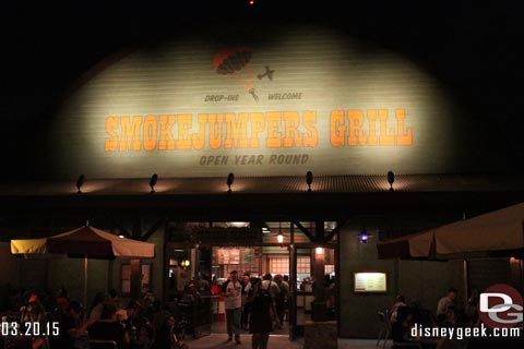 A 1st look at Smokejumpers Grill in Disney California Adventure