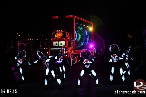 Disney Paint the Night Parade in Hong Kong Disneyland