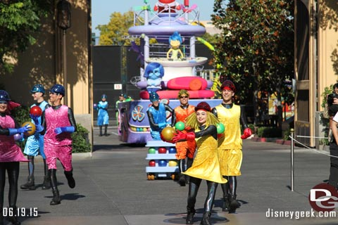 Inside Out Pre-parade