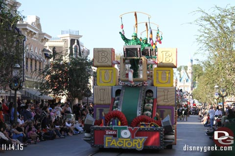 Jason @ disneygeek.com image from Saturday, November 14, 2015