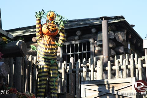 Jason @ disneygeek.com image from Frontierland Halloween