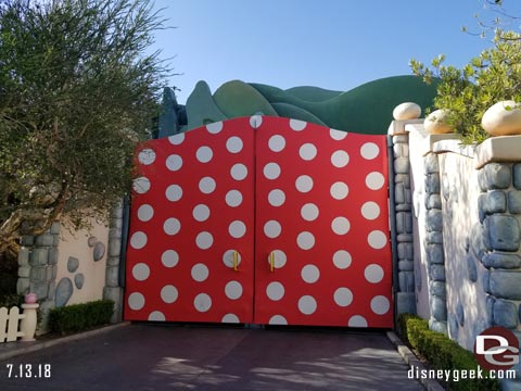 Minnie Wall at Disneyland