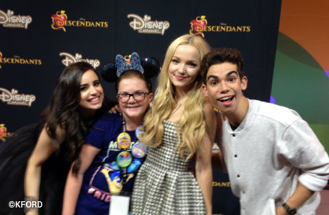 Disney Descendants at D23 Expo