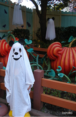 ... attending Mickeys Not So Scary Halloween Party (A Mom and The Magic