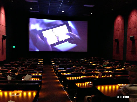 Amc S Dine In Theatre At Downtown Disney Gives Families A Fun Option For Seeing Movies Allears Net