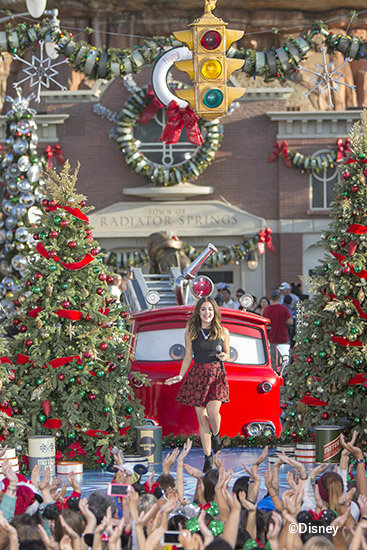 disney christmas parade taping 2014 lucy halejpg
