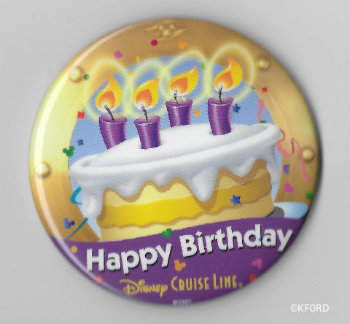 Celebrating Birthdays on the Disney Cruise Line