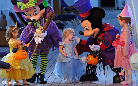 Disney Cruise Line Halloween Characters Kids