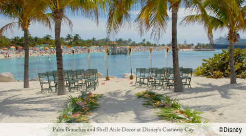 Disney Cruise Line Weddings Castaway Cay Decor Jpg