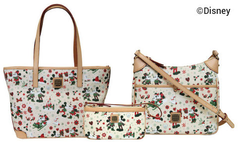 Disney Dooney And Bourke Holiday Christmas Collection Jpg